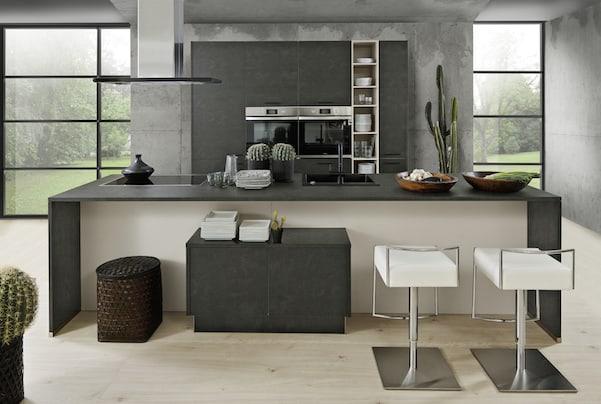 Modena - Stahl grau