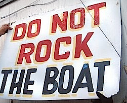 It's time for linchpins to rock the boat
