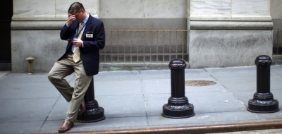 600 wall street layoff REUTERS ERIC THAYER