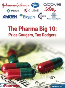 Pharma: Tax dodgers and price gougers? -