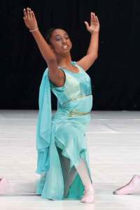 Thiasha Karumasekara has represented the UAE in ballet at an international level, in the US and Bulgaria.