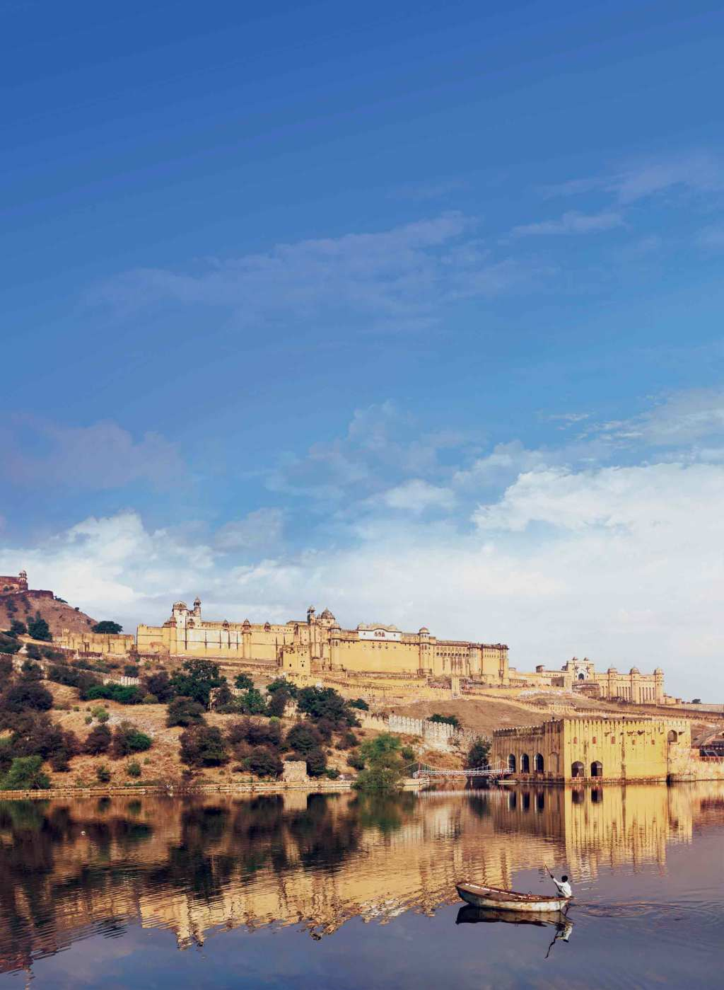 The Amber Fort in Jaipur, India