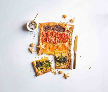 Cheat's Vegetable Tart