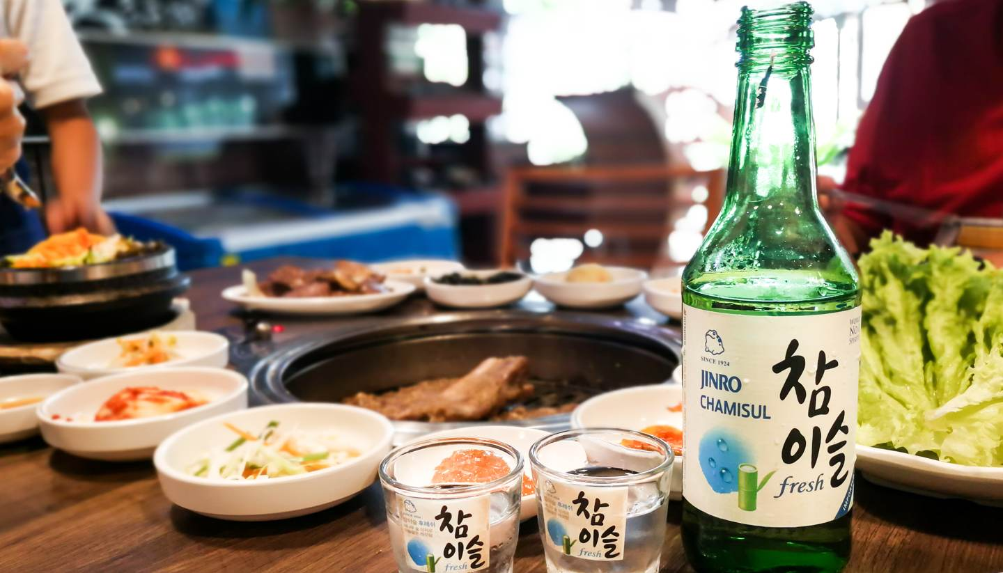 How to drink Korean soju - A World of Food and Drink