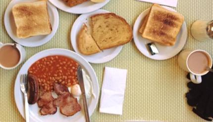 الفطور الإنجليزي الشهير