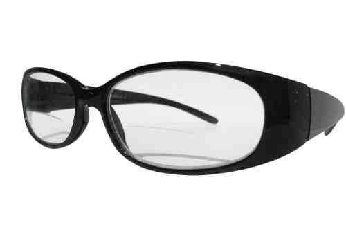 Reina Bifocal Reading Glasses in Black