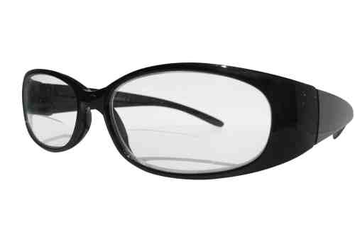 Reina Bifocal Reading Glasses in Black