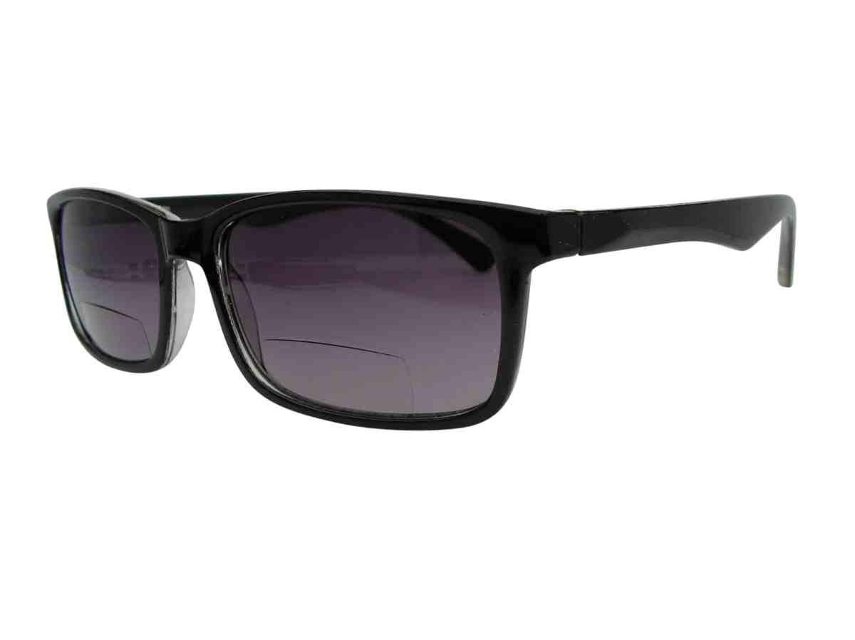 Oslo Bifocal Sunglasses in Black