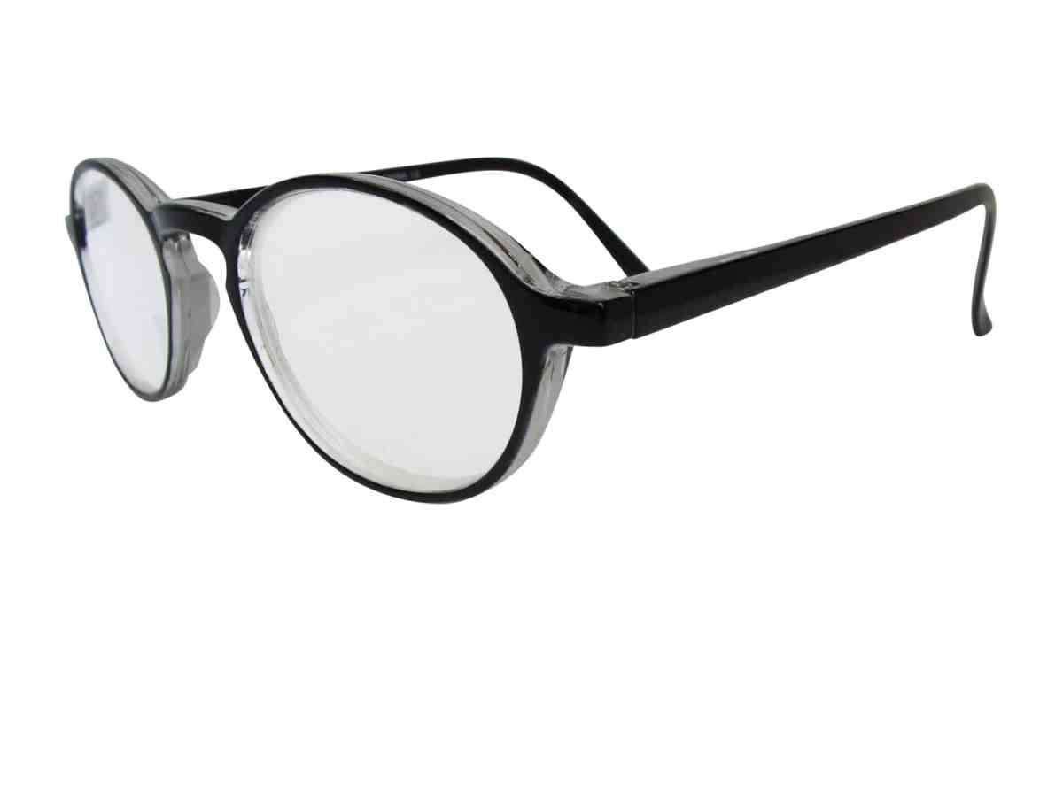 Lennon Super Power Reading Glasses in Black