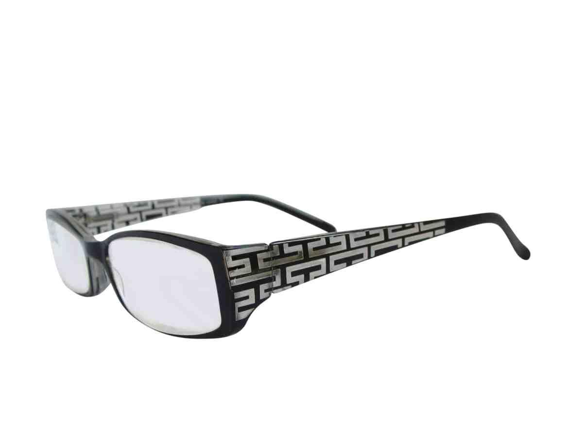 Lisbon Super Power Reading Glasses in Black