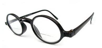 Geek Bifocal Reading Glasses in Black