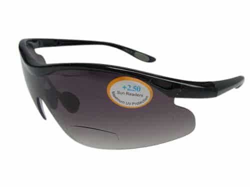 Speedy Running Bifocal Sunglasses in Smoke