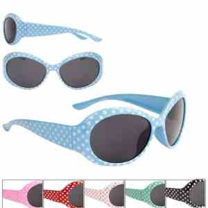 Girls Fashion Dotty Hepburn Style Sunglasses