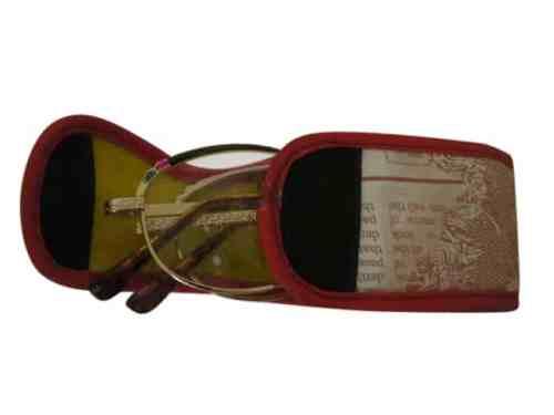 Illinois Folding Bifocal Reading Glasses in Gold