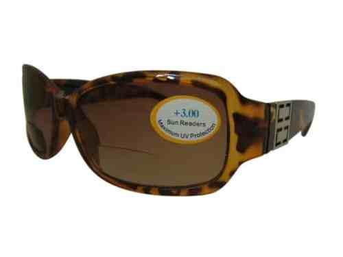 Georgia Bifocal Designer Sunglasses in Brown