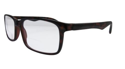 Oslo Wayfarer Bifocal Reading Glasses in Tortoiseshell
