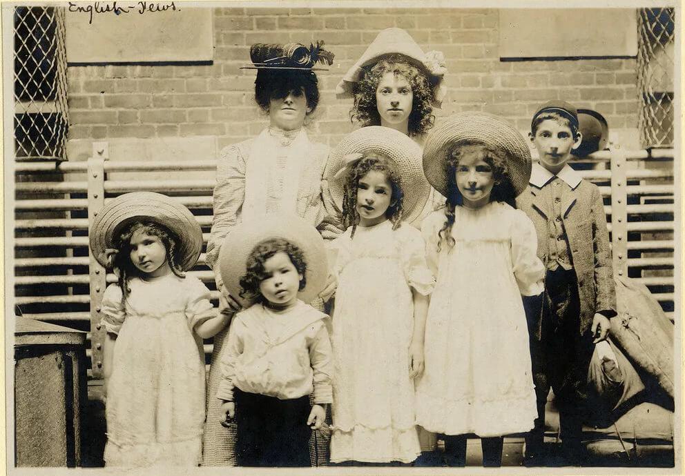 Gia đình người nhập cư Do Thái từ Anh