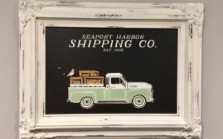 Vintage Truck Chalkboard