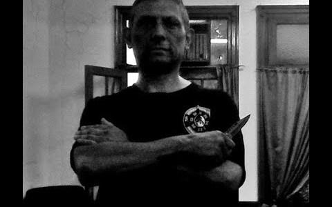 Мастер Пабло Лопес. Защита от ножа