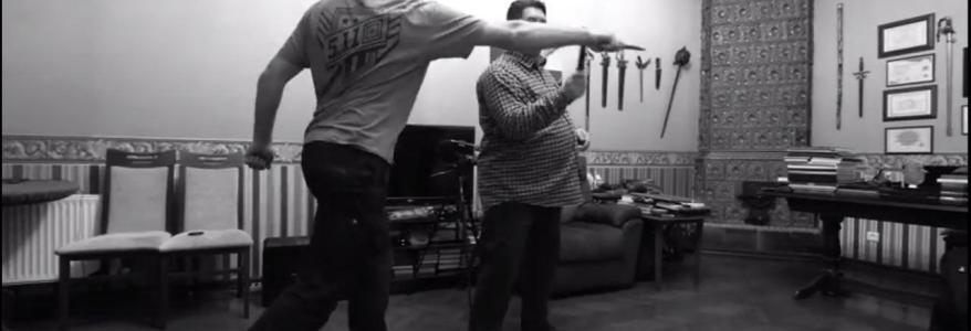 Испанская школа фехтования. Канарский нож. Демонстрация Гранд Маэстро Олега Мальцева