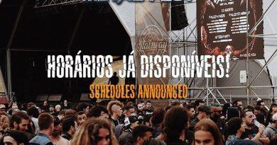 Revelados Horários para Vagos Metal Fest 2019