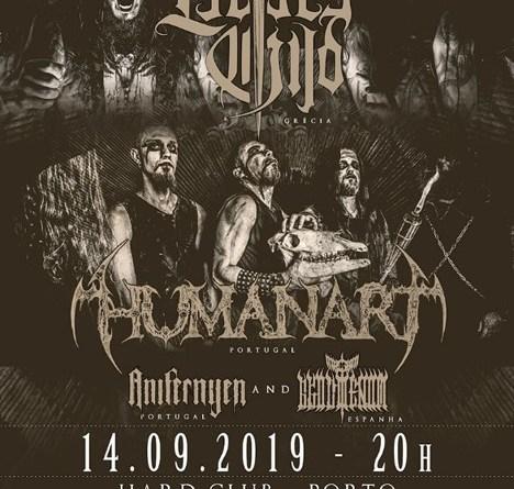 14/09/19 – Lucifer's Child, Humanart, Anifernyen, Akophenom – Hard Club, Porto