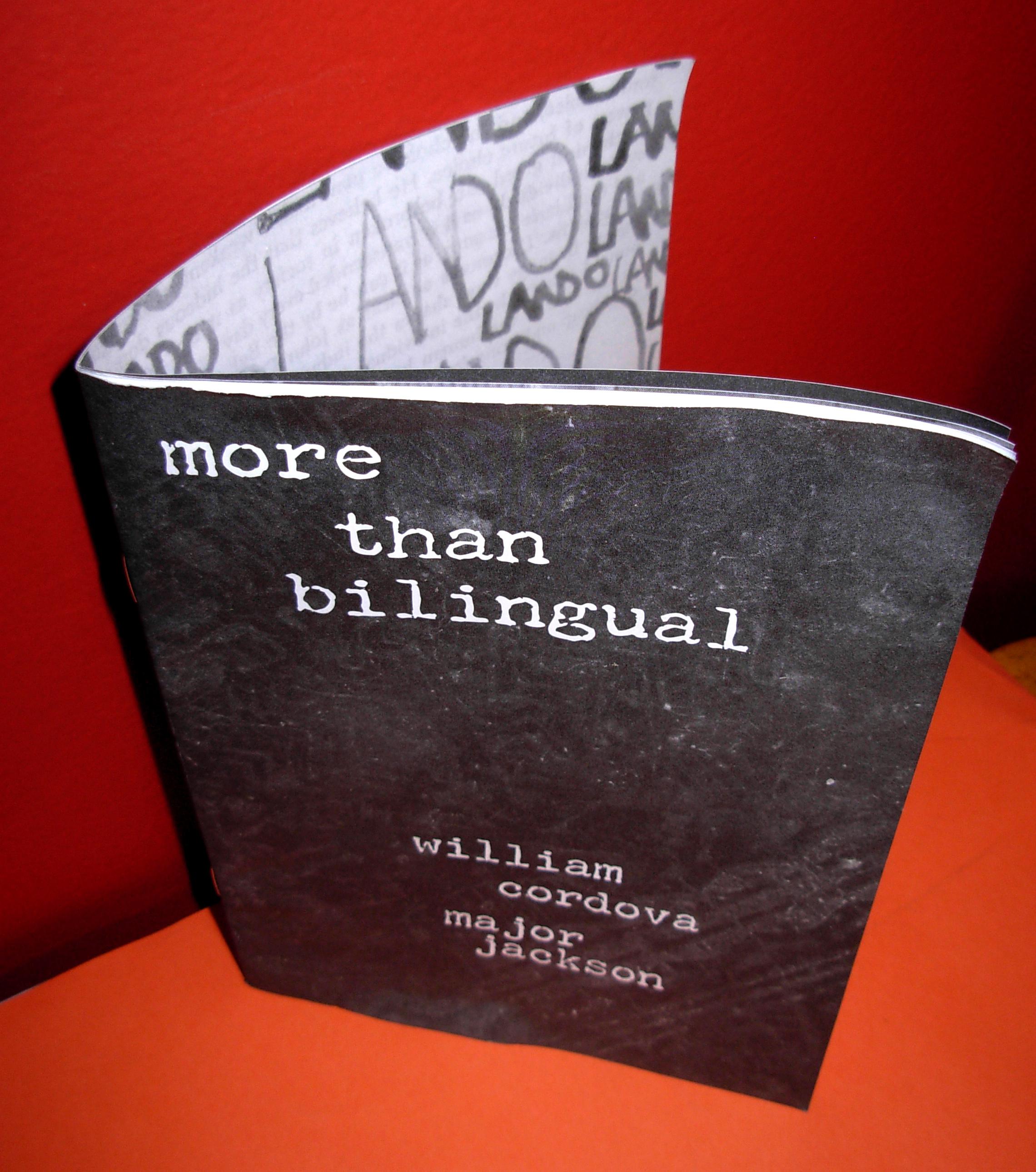 """more than bilingual"" exhibit brochure"