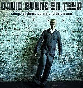 Byrne's tour poster