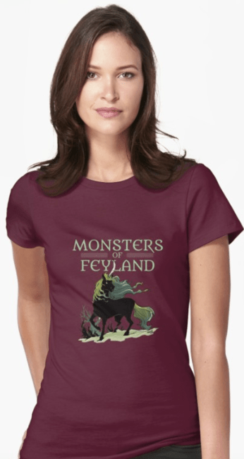 Screenshot_2019-05-21 'Black Unicorn from Monsters of Feyland' T-Shirt by cawoodpublish(1)