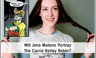 Jena Malone May Play the Carrie Kelley Robin from Frank Miller's The Dark Knight Returns