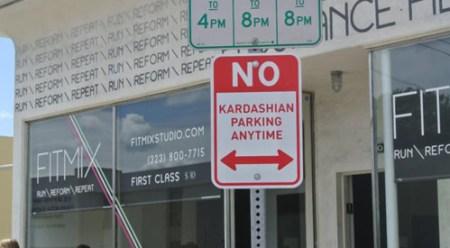 Kardashian-parking
