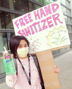 Free sanitizer