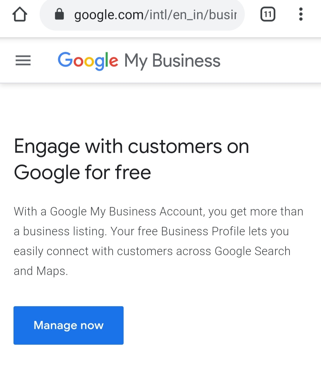 How to put my business on google map,