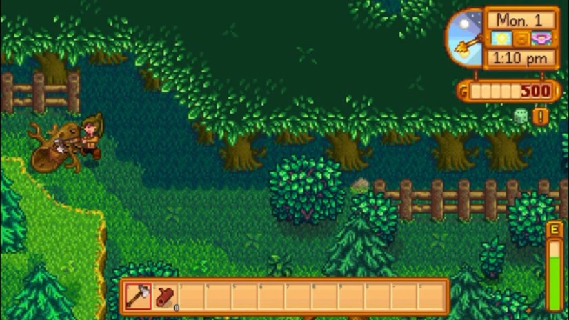 How to get hardwood stardew valley