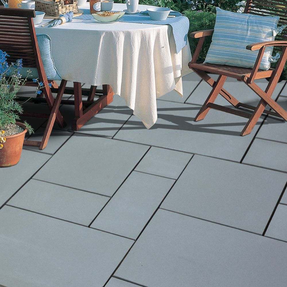 natural stone pavers exotic collection castle grey