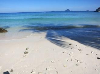 Der weiche Sand in Malaysia