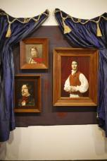 Unveiling of Freeman White's Vampire portraits at the NZ Portrait Gallery
