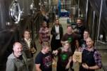 Tuatara Brewery team