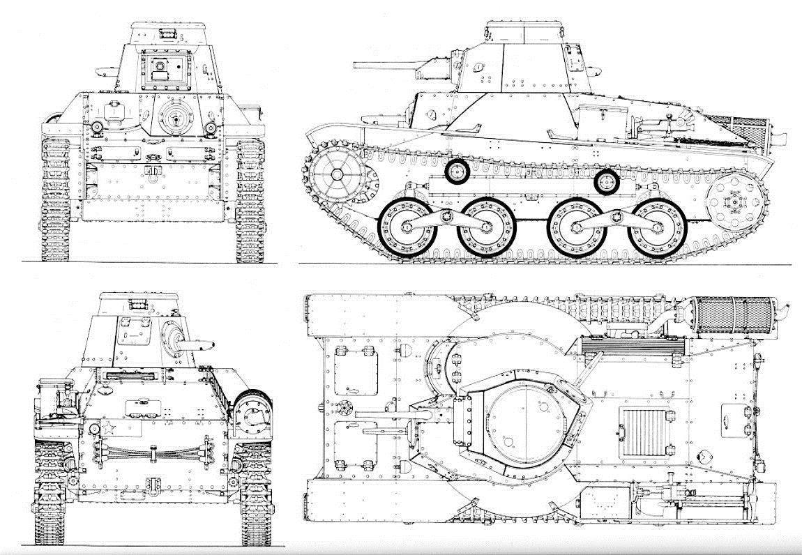The Japanese Type 95 Ha Go