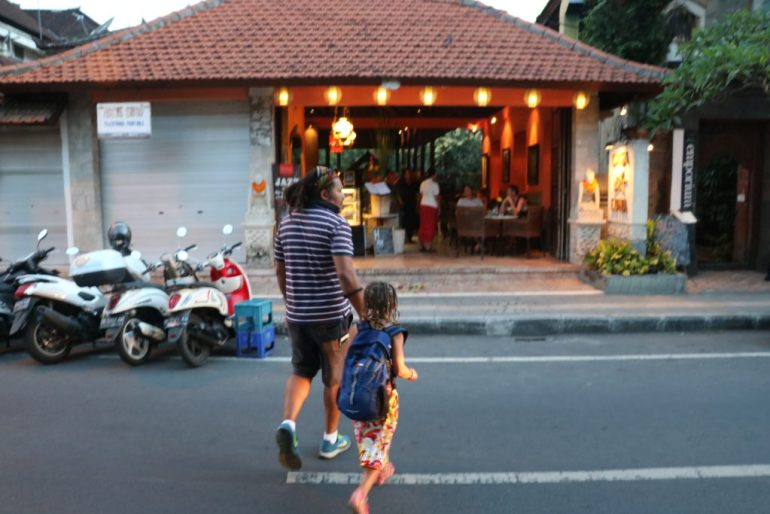 Incredible Family Travel Experiences - Best of 2016 Ubud restaraunt