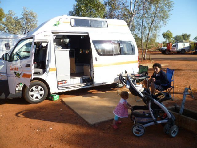 Ayers Rock Campground. Working remotely even then!!!