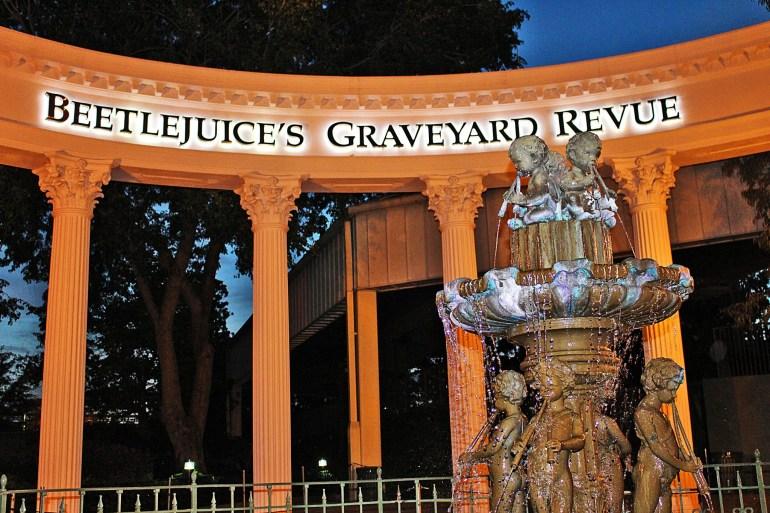 Beetlejuice Graveyard Revue