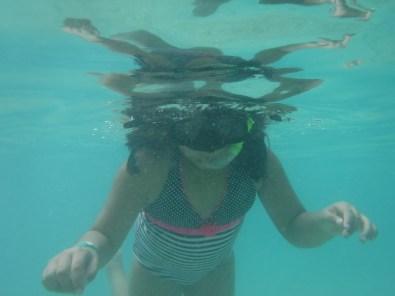 Like I said, she loved snorkeling.