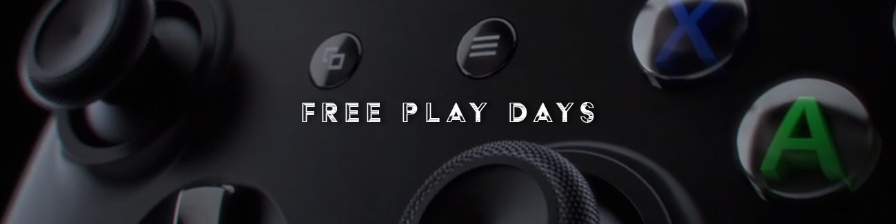 Mocne Free Play Days na ten weekend!