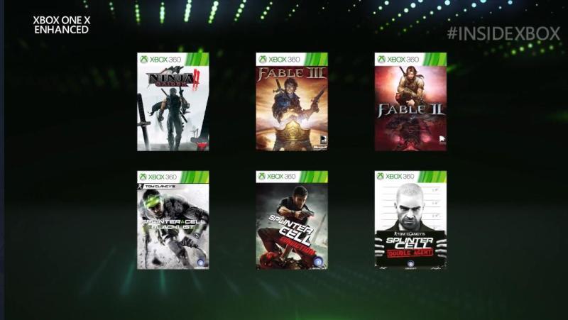 Ulepszone dla Xbox One X