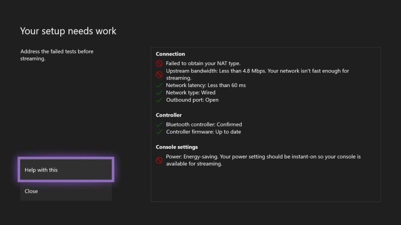 Xbox Streaming Test