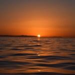 Sun setting behind Catalina Island12