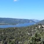 Big Bear Lake amongst mountains12