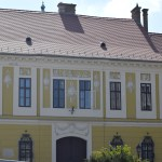 Yellow house frontage in Buda Castle12