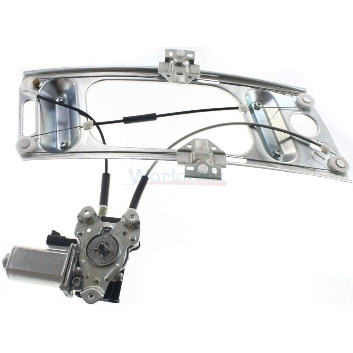 Power Window Regulator With Motor Front Driver Side For Monte Carlo 125 L